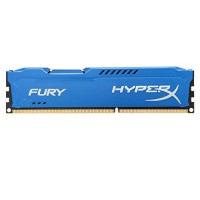 Kingston HyperX Fury 8GB DDR3 1600MHz PC Gaming RAM *Blue