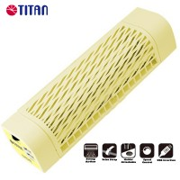 Titan 5V DC Fanstorm USB Tower Cooling Fan Yellow (TTC-NF06TZ-V2)