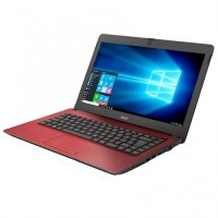 Acer One 14 inch Z1402-343F Notebook *Red