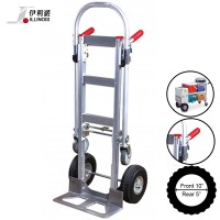 Illinois Heavy Duty 2 in 1 Aluminium Hand Truck Trolley (HS-1009)