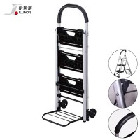 Illinois Aluminium 3-Step Foldable Stairs Cart (HT-0080)