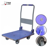 Illinois Steel and Plastic 300kg Foldable Platform Hand Truck Trolley (PT-0090)