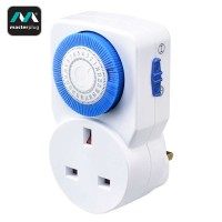 Masterplug 24 Hours Mechanical Segment Timer (TMS24-MP)
