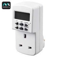Masterplug 24 Hours 7 Days Programmable Electronic Timer (TES7-MP)