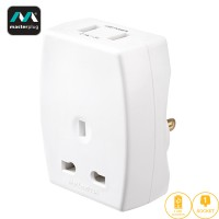 Masterplug USB (2.1A) Travel Adapter - US (TAUSBUSA2-MP)