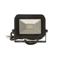Luceco LFS6B130 Warm White 600Llm (8W) Slimline Guardian Floodlights