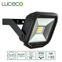 Luceco Guardian Slimline LED Floodlight 3000K Warm White 8W 600 Lumen (LFS6B130)