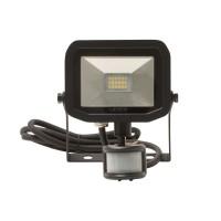 Luceco LFSP12B130 Warm White (15W) Slimline Guardian Floodlights with PIR