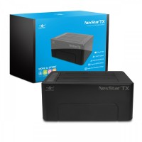 Vantec NST-D428S3-BK NexStar TX Dual Bay USB 3.0 Hard Drive Dock