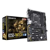 Gigabyte GA-B250-Fintech Ultra Durable Motherboard *Design for Mining