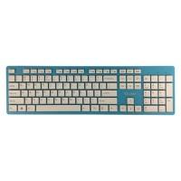 TCSTAR K518BL WIRED CHOCOLATE USB KEYBOARD *BLUE