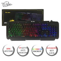 TCSTAR Rainbow Illumination Gaming Keyboard (K701)