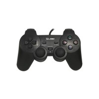 TCSTAR OM-C1001 USB WIRED DOUBLE VIBRATION GAMEPAD