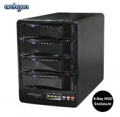 "Archgon 2.5"" and 3.5"" SATA to USB 3.0 and eSATA 4-Bay HDD Enclosure (MH-3643-JSC)"