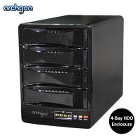 "Archgon 2.5"" and 3.5"" SATA to USB 3.0 and eSATA 4-Bay HDD Enclosure (MH-3643-JSC)"