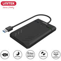 "Unitek DiskGuard Raiden SATA III SSD/HDD 2.5"" Hard Disk Enclosure USB 3.1 Gen 1 5 Gbps Super Speed (Y-3036)"