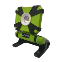Luceco LCWR9G60 Rechargeable Mini Clamp Work Light