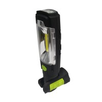 Luceco LILT30R65-1A LED Rechargeable 3W Torch Multiposition with USB Power Bank