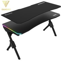 Gamdias Daedalus M1 RGB Gaming Desk Black (DAEDALUS M1)