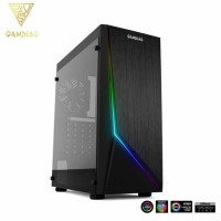 Gamdias Argus E1 RGB Mid Tower PC Case (ARGUS E1)