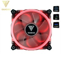 Gamdias Aeolus E1 1201 120mm Case and Radiator Fan Red LED (AEOLUS E1-1201-R)
