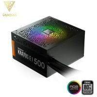 Gamdias Kratos E1 500W Addressable RGB Power Supply Unit (KRATOS E1-500W)