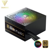 Gamdias Kratos P1 650G Addressable RGB Power Supply Unit (KRATOS P1-650W)