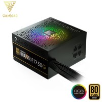 Gamdias Kratos P1 750G Addressable RGB Semi Modular Power Supply Unit (KRATOS P1-750W)