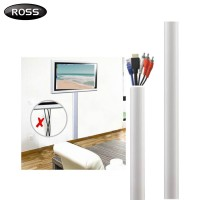 Ross Aluminium Universal Cable Cover 1 Meter Cable Concealer Management (CCA1050C-RO)
