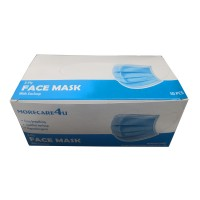[READY STOCK] Face Masks 3-Ply with Earloop 3 Materials and Protection 50 pcs