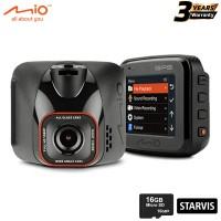 "Mio MiVue™ C575 Full HD 1080p Starvis CMOS F1.8 Car Camera 2"" DashCam (Free 16GB MicroSD)"