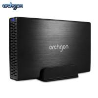 "Archgon Sphere III USB 3.0 Single 3.5"" SATA Storage Center HDD Enclosure (MH-3231-U3V3)"