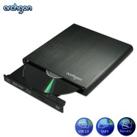 Archgon Blue Aurora USB External Blu-Ray Writer Mobile BD-RW Black (MD-3107-U2)
