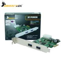 HornetTek 2-Port USB 3.0 Internal PCI-e Adapter Card (HT-PCIU3N)