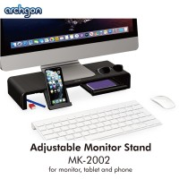 Archgon Adjustable Multipurpose Monitor Stand (MK-2002) for Monitor, Tablet and Phone