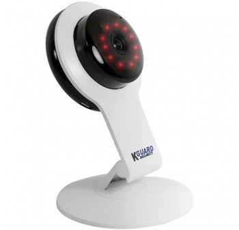 KGuard Security 720P WiFi IP Camera with Night Vision White (QRT-502)