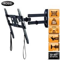 Ross Neo 32-50 inch Triple Arm Full Motion TV Wall Mount Bracket (LNRTA400-RO)