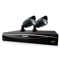 KGuard HD481 Combo Kit (4 Channel 1080P/2 Camera HD 720P)
