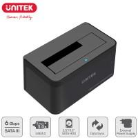 "Unitek Single Bay SATA III Docking Station for 2.5"" / 3.5"" HDD/SSD USB3.0 5Gbps SuperSpeed (Y-1078)"