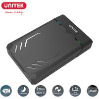 "Unitek DiskGuard Raiden SATA III 3.5"" SSD/HDD Hard Disk Enclosure USB 3.1 Gen1 USB-A 5 Gbps Super Speed (Y-3035)"