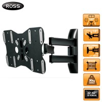 Ross Neo 32-42 inch Triple Arm Full Motion TV Wall Mount Bracket (LNTA240-RO)