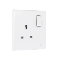 British General PCWH21 *1-Gang 13Amp Switched Socket Outlet