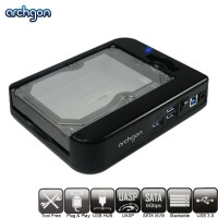 "Archgon Unity II USB 3.0 Hub for 2.5""/3.5"" HDD Stackable Docking System (MH-3507HUB-U3A)"