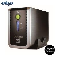 "Archgon USB 3.0 2.5"" / 3.5"" Dual Bay HDD Enclosure (MH-3622RD-U3P)"