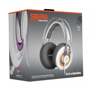 SteelSeries 51190 Siberia Elite PRISM Gaming Headset *White