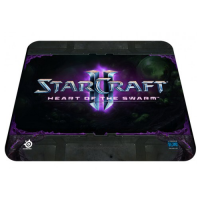 SteelSeries 67267 QcK Logo StarCraft 2 Swarm Edition Gaming MousePad